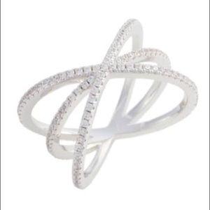 Nordstrom Criss Cross Pavà Ring